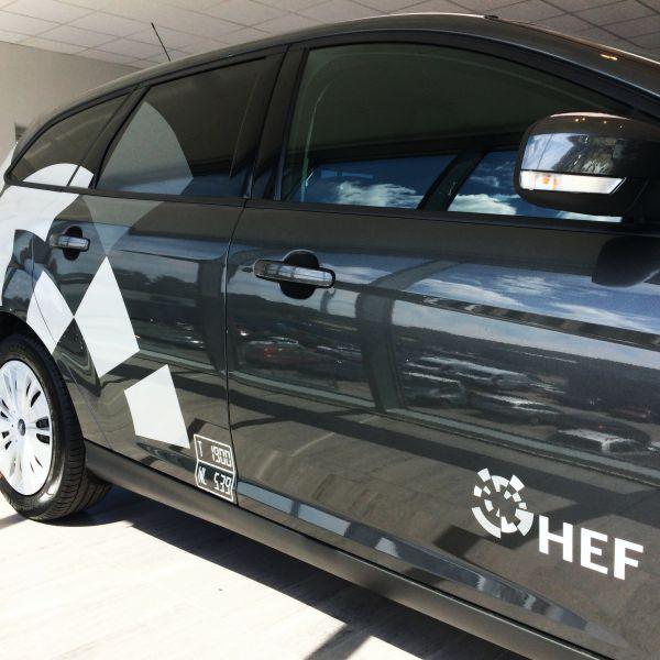Bil dekoration for HEF